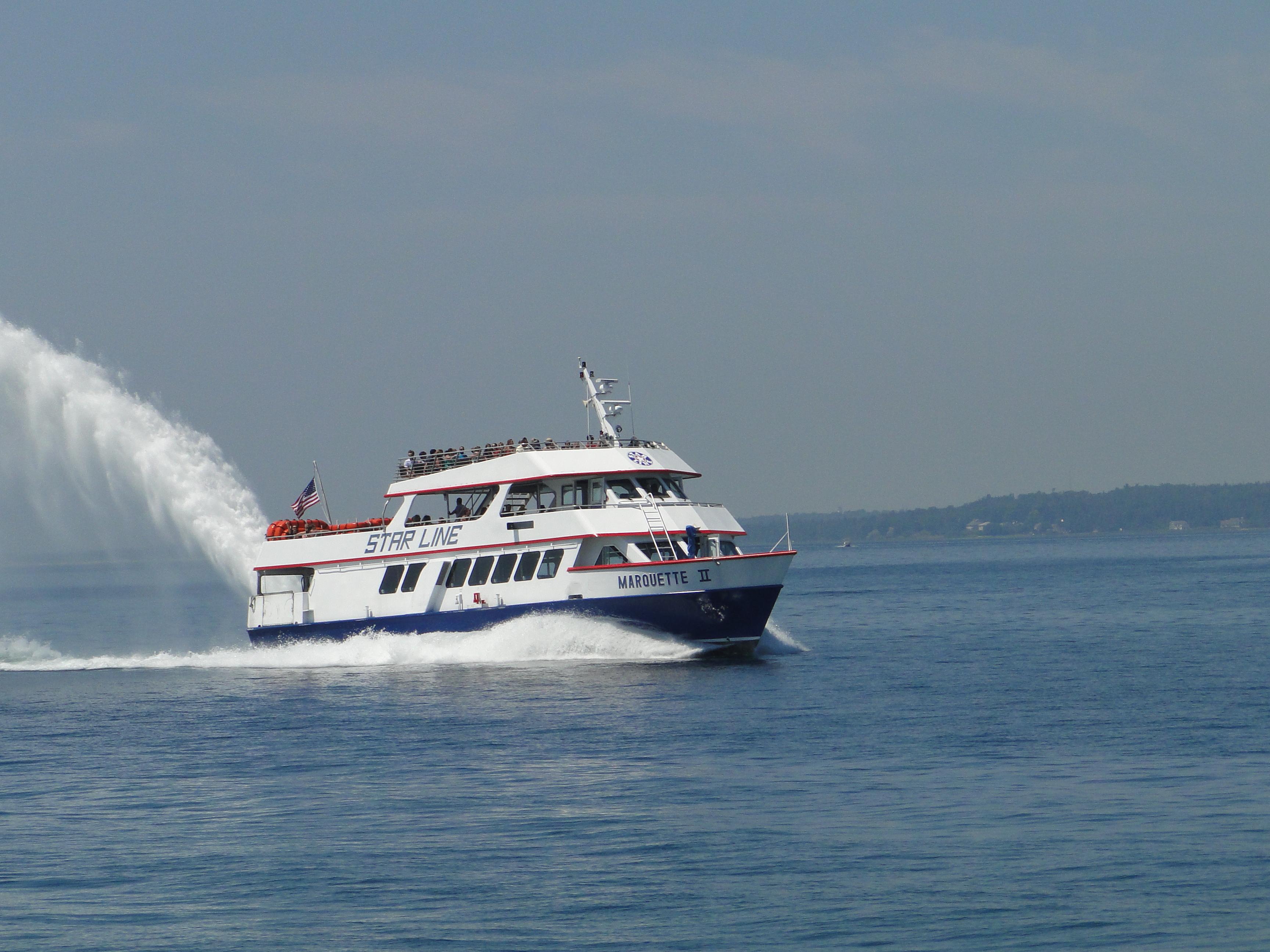 Mackinac Island Ferry Deal