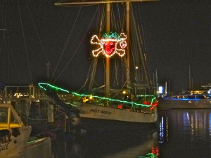 Key West Pirates celebrate the Holidays