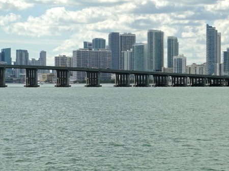 One of MANY Miami bridges