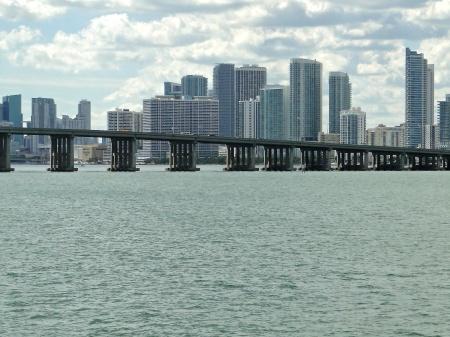 One of MANY Miami bridges
