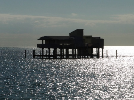 Stilt house on Key Biscayne